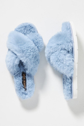 Dolce Vita Pillar Slippers By in Beige Size 6
