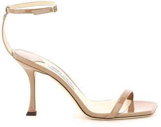 Jimmy Choo Marin 90 Patent Leather Sandals