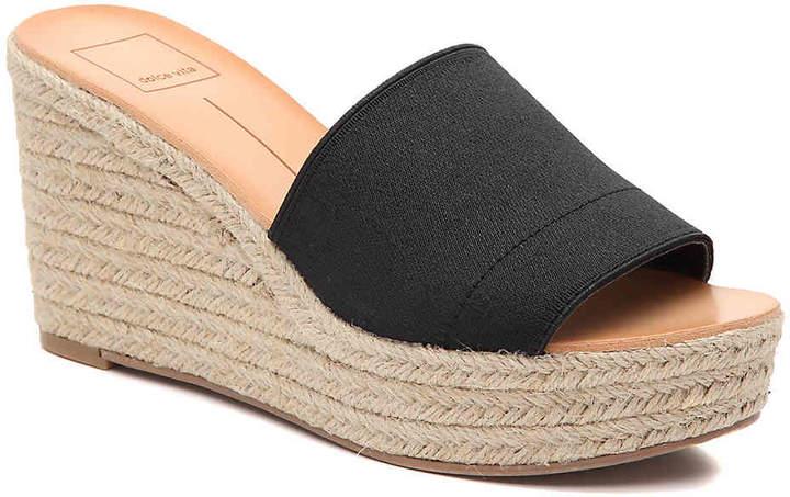 e210ec5040ce Dolce Vita Black Wedge Women s Sandals - ShopStyle