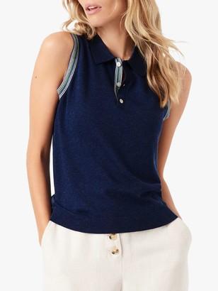 Brora Sleeveless Polo Shirt