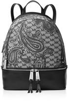 MICHAEL Michael Kors Studio Rhea Medium Zip Paisley Backpack