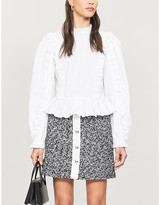 Claudie Pierlot Sasha tweed mini skirt