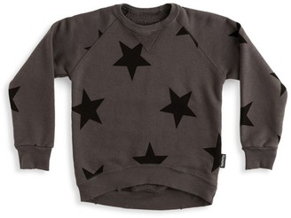 Nununu Little Boy's & Boy's Star Sweatshirt