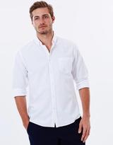Sportscraft Long Sleeve Regular Oxford Shirt