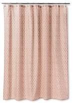 Threshold Pinwheel Shower Curtain - Coral/Blue