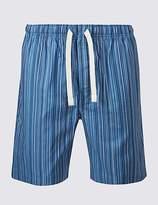 M&S Collection Pure Cotton Striped Shorts