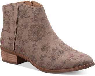 American Rag Jolene Leather Ankle Booties, Women Shoes