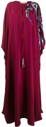 Emilio Pucci Embroidered And Bead-Embellished Kaftan
