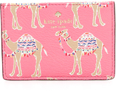 Kate Spade Camel March Card Case