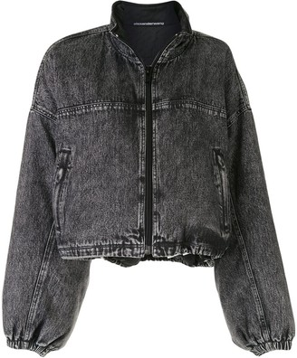 Alexander Wang Denim Bomber Jacket