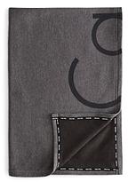 Calvin Klein Modern Cotton Cropped Logo Throw
