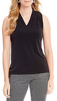 Kasper V-Neck Knit Cami