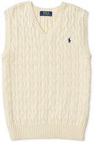 Ralph Lauren Sweater Vest, Big Boys (8-20)