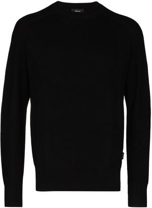 Ermenegildo Zegna Textured Knitted Jumper
