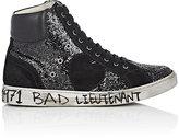 Saint Laurent Women's Women's Antibe Glitter & Suede Sneakers