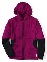 Classic Little Girls Activewear Hoodie-Raspberry