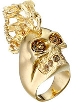 Alexander McQueen Skull Punk Fish Small Ring