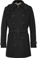 Burberry Hooded Shell Trench Coat