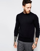 Ps By Paul Smith Paul Smith Jeans Jumper With Zebra And Crew Neck