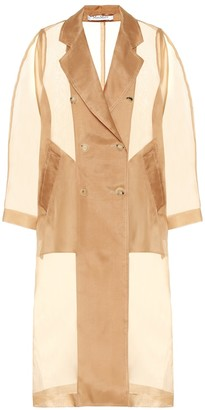 Max Mara Materia silk-organza jacket