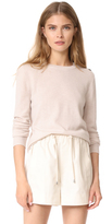 Jenni Kayne Button Shoulder Crewneck