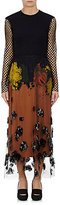 Dries Van Noten Women's Dleyres Mixed-Media Dress