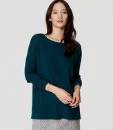 LOFT Swing Tunic Sweater