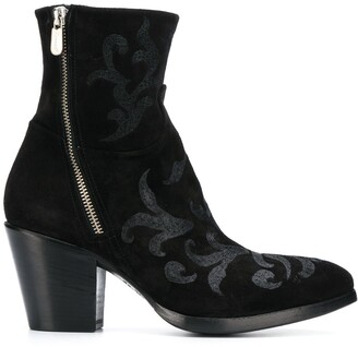 Rocco P. 70mm zipped ankle boots