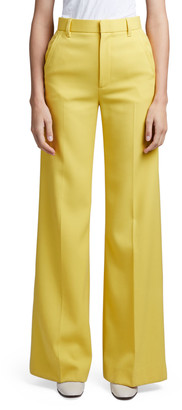 MARC JACOBS, RUNWAY Wool Flared Pants