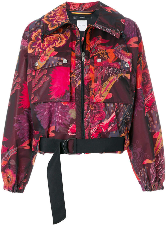 Paul Smith floral print cropped jacket