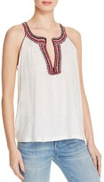 Soft Joie Yvanna Crochet-Trimmed Top
