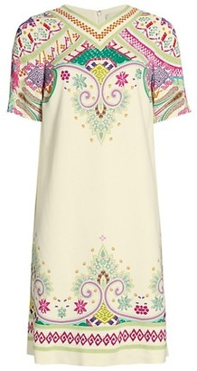 Etro Tavolara Printed Shift Dress