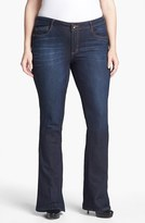 Nordstrom Plus Size Women's Wit & Wisdom 'Itty Bitty' Bootcut Jeans