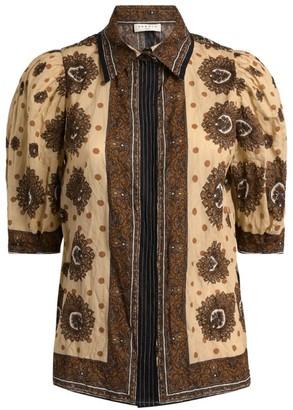 Sandro Paris Cotton Printed Shirt