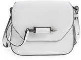 Mackage Mini Novacki Leather Crossbody Bag - White
