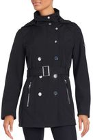 Calvin Klein Long Sleeve Double-Breasted Trenchcoat