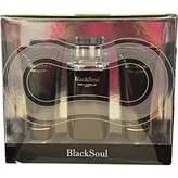 Ted Lapidus Black Soul 3 Piece Gift Set