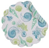 """Set of 4 PCS, 17"""" Round Quilted Placemat, St Augustine"""