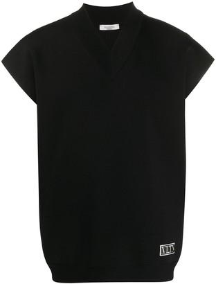 Valentino short-sleeve V-neck T-shirt