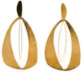 Herve Van Der Straeten Large Hammered Earrings