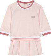 BOSS Striped long sleeved dress 1-18 months