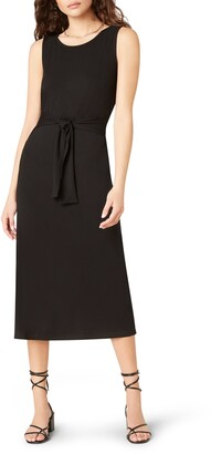 BB Dakota Chic to Chic Belted Jersey Midi Dress
