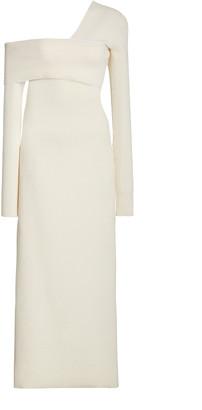 Proenza Schouler Bandage One-Shoulder Silk-Blend Maxi Dress