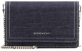 Givenchy Pandora Chain Denim Shoulder Bag