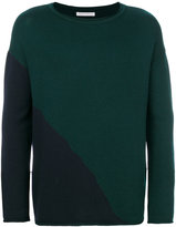 Societe Anonyme two-tone jumper - men - Merino - M