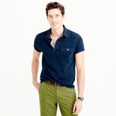 J.Crew Wallace & Barnes indigo polo shirt