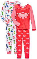 AME 4-Pc. PJ Masks Hero Time Pajama Set, Toddler Girls (2T-4T)