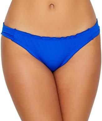 Pour Moi? Pour Moi Santa Monica Solid Frill Bikini Bottom