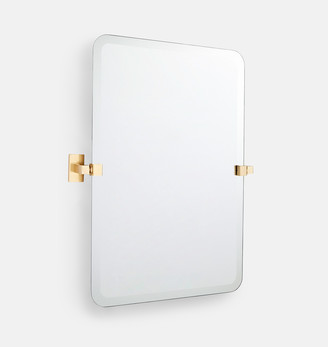 Rejuvenation Yaquina Frameless Rounded Rectangle Pivot Mirror