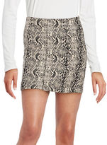 Free People Jacquard Mini Skirt